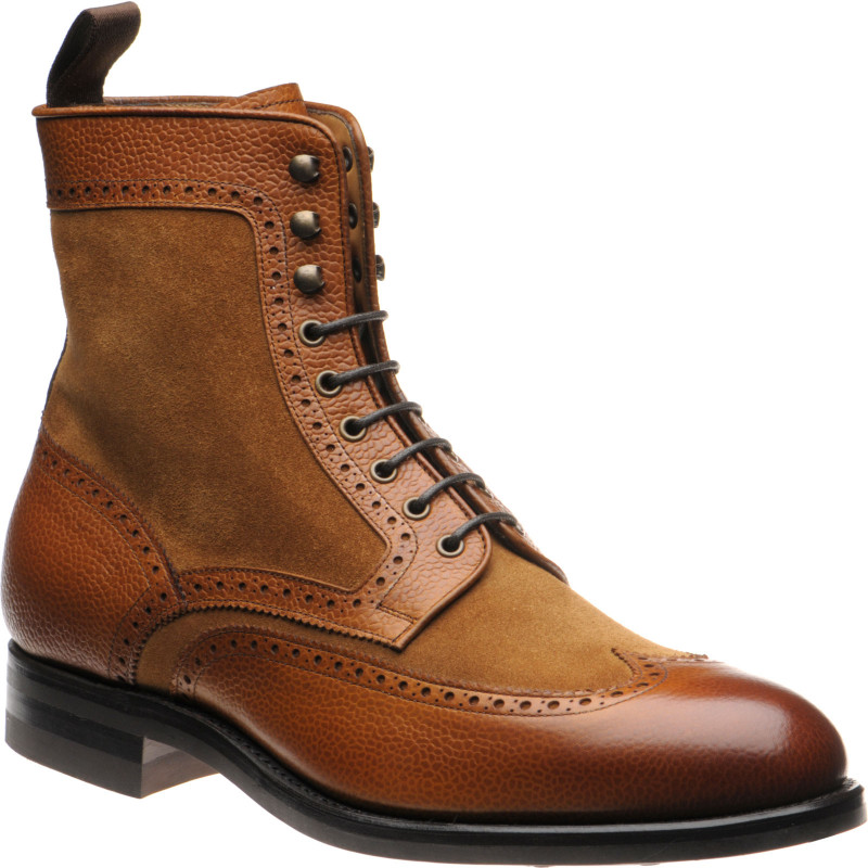 Docklands brogue boot