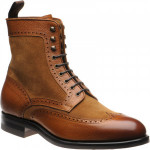 Herring Docklands rubber-soled brogue boots