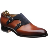 Faversham double monk shoes