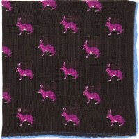Herring Hare Pocket Square (71475)