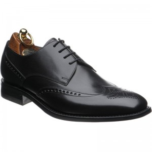 Herring Marylebone in Black Calf