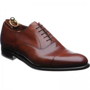 Herring Churchill in Dark Leaf Brown Calf