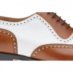Herring Hyde two-tone brogue