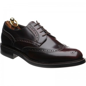 Herring Edinburgh rubber-soled brogue