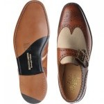 Herring Christchurch two-tone monk shoe