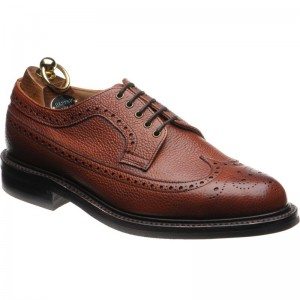 Herring Grassmere rubber-soled brogue