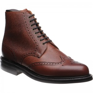 Langdale rubber-soled brogue boot