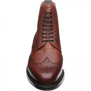 Herring Langdale rubber-soled brogue boot
