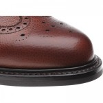Herring Langdale rubber-soled brogue boot