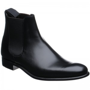Herring Wilson Chelsea boots in Black Calf