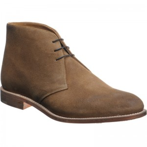 Herring Ilford rubber-soled Chukka boots