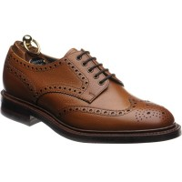 Kendal rubber-soled brogue