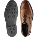 Herring Kendal rubber-soled brogues