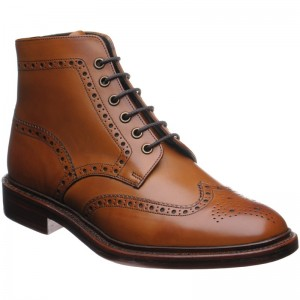 Burgh brogue boot
