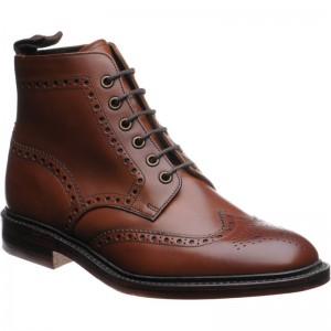Herring Burgh brogue boots
