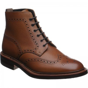 Hawkshead rubber-soled brogue boot