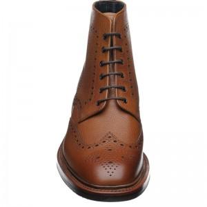 Herring Hawkshead rubber-soled brogue boot