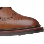 Herring Hawkshead rubber-soled brogue boot