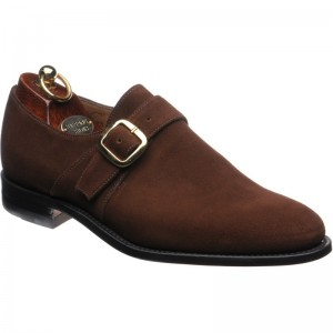 Herring Cardiff in Brown Suede