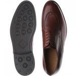 Herring Hopkins rubber-soled Derby shoe
