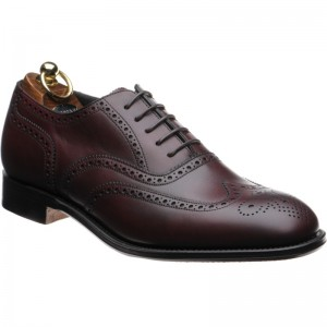 Burgundy Burnished Calf