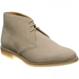 Loake Camden in Sand Suede