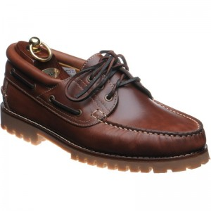 522 rubber-soled deck shoes