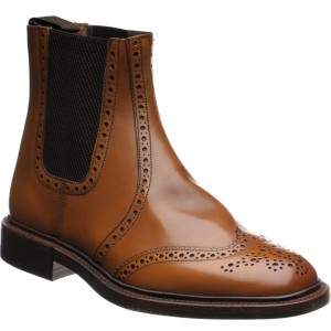 Thirsk rubber-soled brogue Chelsea boots