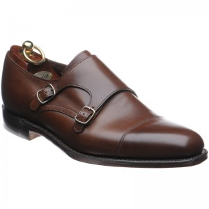 Cannon double monk shoe