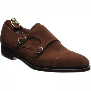 Loake Cannon double monk shoe