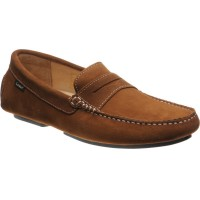 Loake Herbert rubber-soled driving moccasins