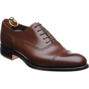 Loake Ledbury rubber-soled semi-brogues