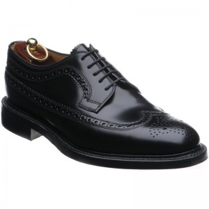 Sovereign rubber-soled brogues