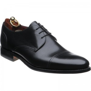 Loake Abberline in Black Calf