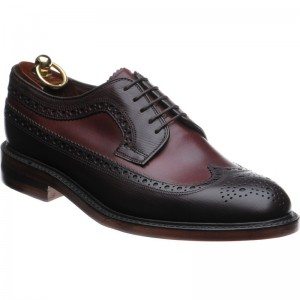 Loake Taunton two-tone brogue