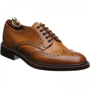 Chester rubber-soled brogue