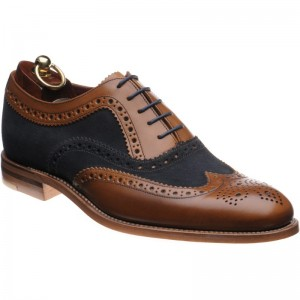 Thompson two-tone brogue