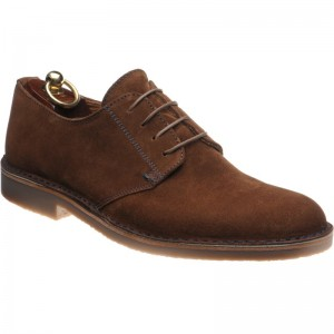 Mojave rubber-soled Derby shoes
