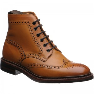 Burford rubber-soled brogue boot