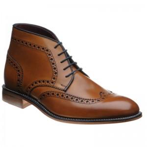 Errington brogue boots