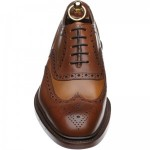 Loake Funnelweb two-tone brogue