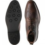 Bosworth two-tone brogue boot