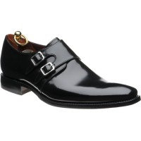 Loake Mercer rubber-soled double monk shoes