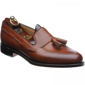 Loake Temple tasselled loafer