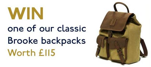 Win a Brooke backpack