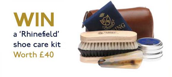 Win a Rhinefield shoe care kit