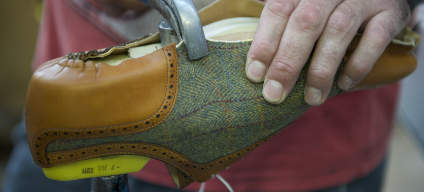7901d54ff8b2f Many shoes can be repaired at the factory on the original last, often  several times, which greatly extends the lifetime of the shoe.