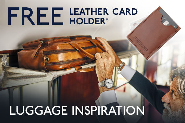* Free card holder with luggage orders over £75, use code LUGGIFT
