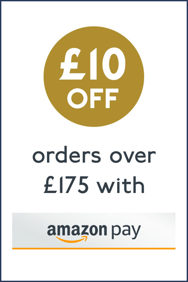 Save £10 when you pay using Amazon Pay