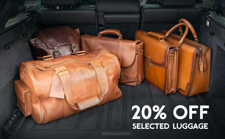 20% off selected Herring Luggage